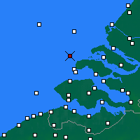 Nearby Forecast Locations - Oosterschelde WP - Χάρτης