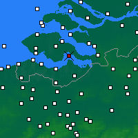 Nearby Forecast Locations - Hansweert - Χάρτης