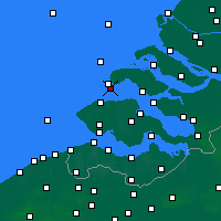 Nearby Forecast Locations - Burgh-Haamstede - Χάρτης