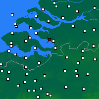 Nearby Forecast Locations - Tholen - Χάρτης