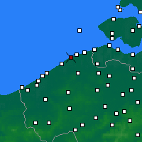 Nearby Forecast Locations - Blankenberge - Χάρτης