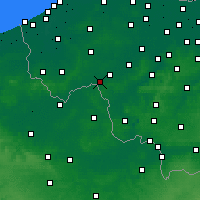 Nearby Forecast Locations - Wevelgem - Χάρτης