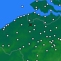 Nearby Forecast Locations - Maldegem - Χάρτης
