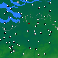 Nearby Forecast Locations - Brasschaat - Χάρτης