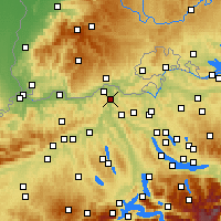 Nearby Forecast Locations - Beznau - Χάρτης