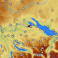 Nearby Forecast Locations - Steckborn - Χάρτης