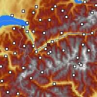 Nearby Forecast Locations - Fey - Χάρτης