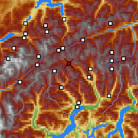 Nearby Forecast Locations - Airolo - Χάρτης