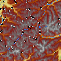 Nearby Forecast Locations - Scuol - Χάρτης