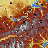 Nearby Forecast Locations - Grindelwald - Χάρτης