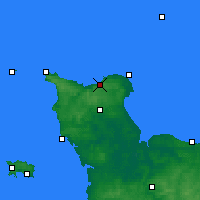 Nearby Forecast Locations - Vigite du Haumet - Χάρτης