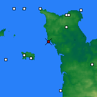 Nearby Forecast Locations - Carteret - Χάρτης