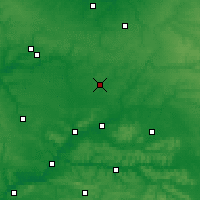 Nearby Forecast Locations - Saint-Quentin - Χάρτης