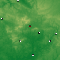 Nearby Forecast Locations - Alençon - Χάρτης