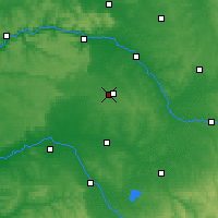 Nearby Forecast Locations - Châlons-en-Champagne - Χάρτης