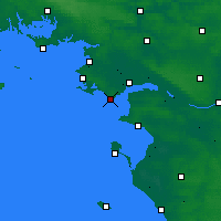 Nearby Forecast Locations - Chemoulin - Χάρτης