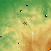 Nearby Forecast Locations - Saint-Laurent - Χάρτης