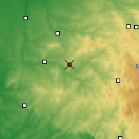 Nearby Forecast Locations - Λιμόζ - Χάρτης