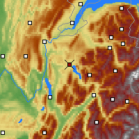 Nearby Forecast Locations - Annecy - Χάρτης