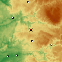 Nearby Forecast Locations - Rodez - Χάρτης