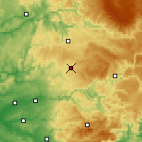 Nearby Forecast Locations - Cassagnes - Χάρτης