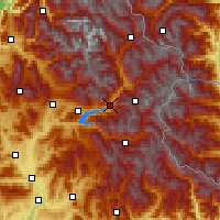 Nearby Forecast Locations - Embrun - Χάρτης