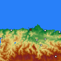 Nearby Forecast Locations - Αβιλές - Χάρτης