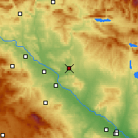 Nearby Forecast Locations - Bardenas Reales - Χάρτης