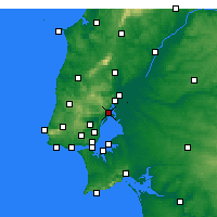 Nearby Forecast Locations - Αλβέρκα - Χάρτης