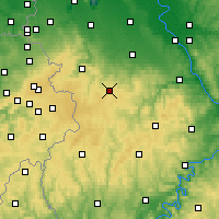 Nearby Forecast Locations - Nettersheim - Χάρτης