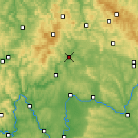 Nearby Forecast Locations - Bad Neustadt - Χάρτης