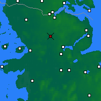 Nearby Forecast Locations - Eggebek - Χάρτης