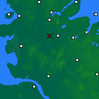 Nearby Forecast Locations - Hohn - Χάρτης