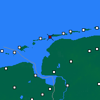Nearby Forecast Locations - Norderney - Χάρτης