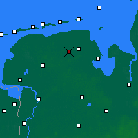 Nearby Forecast Locations - Wittmund - Χάρτης