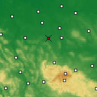 Nearby Forecast Locations - Salzgitter - Χάρτης