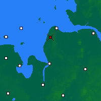 Nearby Forecast Locations - Nordholz - Χάρτης