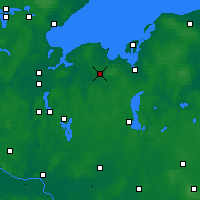 Nearby Forecast Locations - Grevesmühlen - Χάρτης