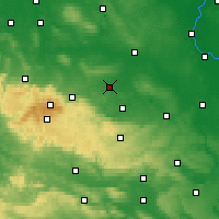 Nearby Forecast Locations - Halberstadt - Χάρτης