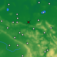 Nearby Forecast Locations - Minden - Χάρτης
