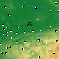 Nearby Forecast Locations - Hamm - Χάρτης
