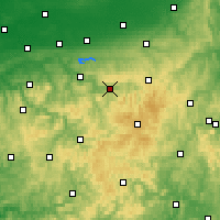 Nearby Forecast Locations - Meschede - Χάρτης