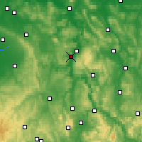 Nearby Forecast Locations - Höxter - Χάρτης
