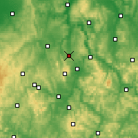 Nearby Forecast Locations - Calden - Χάρτης