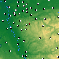 Nearby Forecast Locations - Schauenburg - Χάρτης