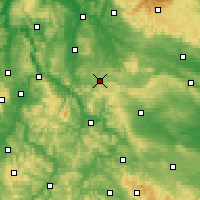 Nearby Forecast Locations - Heiligenstadt - Χάρτης