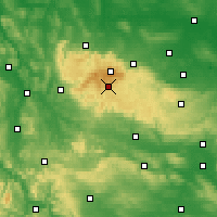 Nearby Forecast Locations - Harz - Χάρτης