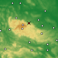 Nearby Forecast Locations - Wernigerode - Χάρτης