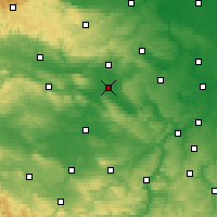 Nearby Forecast Locations - Artern - Χάρτης