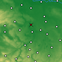 Nearby Forecast Locations - Halle - Χάρτης